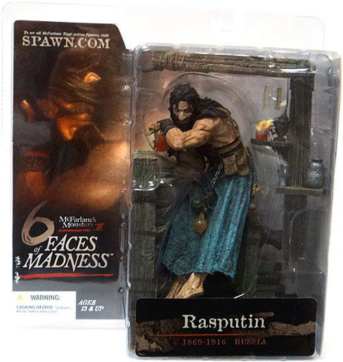 McFarlane Toys McFarlane's Monsters 6 Faces of Madness Rasputin Action Figure [Damaged Package]