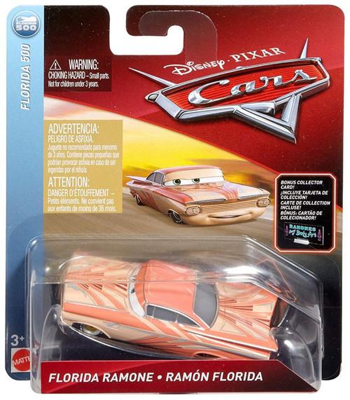 Disney / Pixar Cars Cars 3 Florida 500 Florida Ramone Diecast Car [Bonus Collector Card]