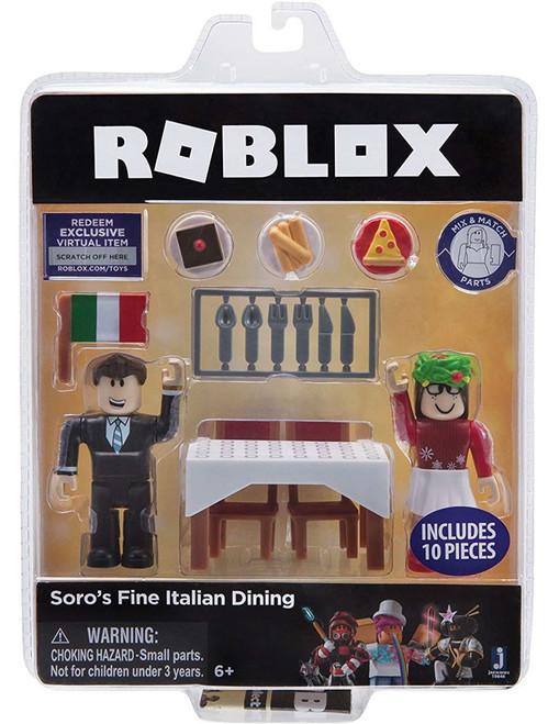 Roblox Soro's Fine Italian Dining Action Figure 2-Pack