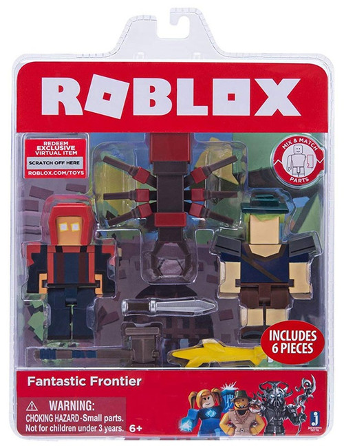 Roblox Fantastic Frontier Action Figure Game Pack