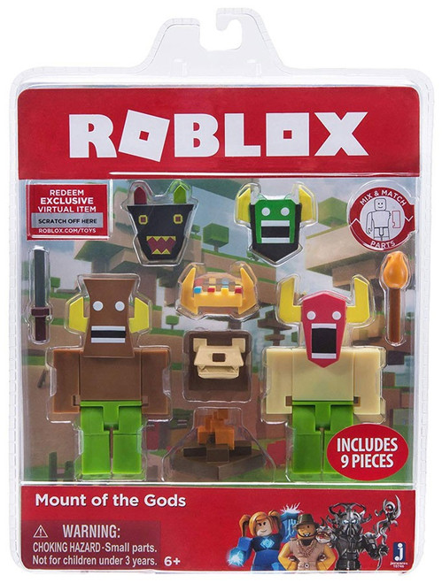 Roblox Mount of the Gods Action Figure Game Pack