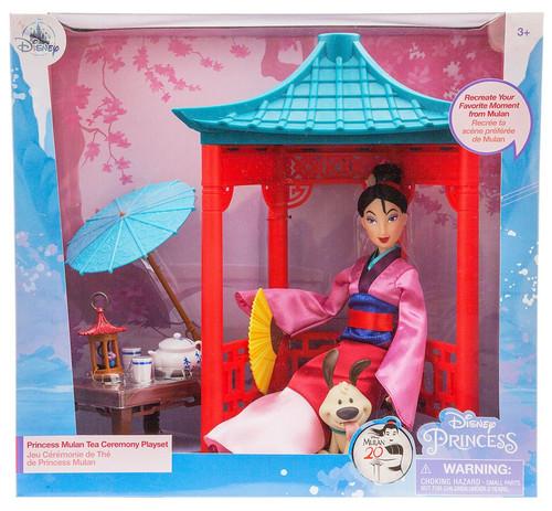 Disney Princess Princess Mulan Tea Ceremony Exclusive 11.5-Inch Playset