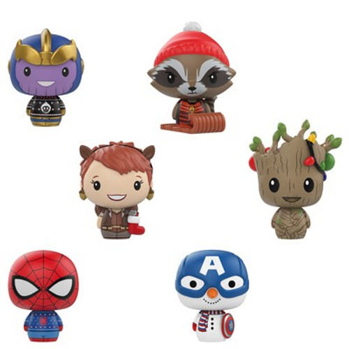 Funko Pint Size Heroes Marvel Holiday Mystery Pack