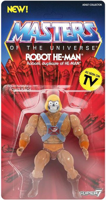 Masters of the Universe Vintage Series 2 Robot He-Man Action Figure