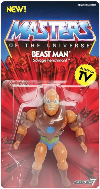 Masters of the Universe Vintage Series 2 Beast Man Action Figure