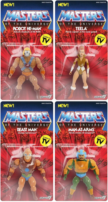 Masters of the Universe Vintage Series 2 Set of 4 Action Figures