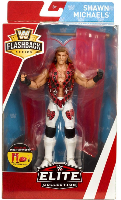 WWE Wrestling Elite Collection Flashback Shawn Michaels Exclusive Action Figure [Heartbreak Hotel]