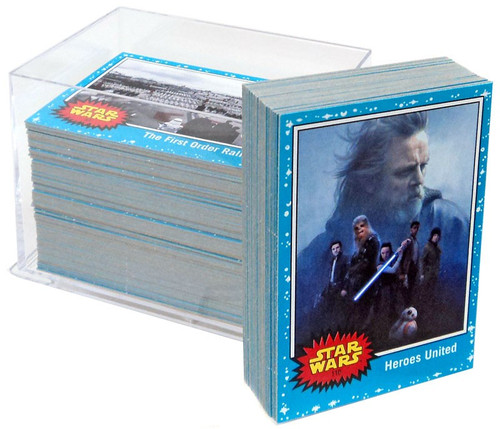 Topps Journey to Star Wars: The Last Jedi Trading Card Set [110 Cards]