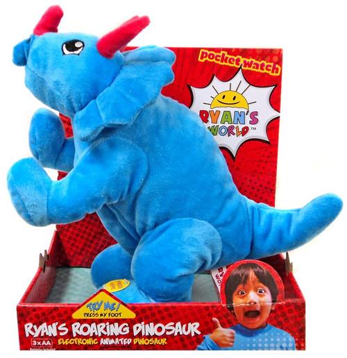 Ryan's World Ryan's Roaring Dinosaur 13-Inch Plush Figure [Blue Triceratops]