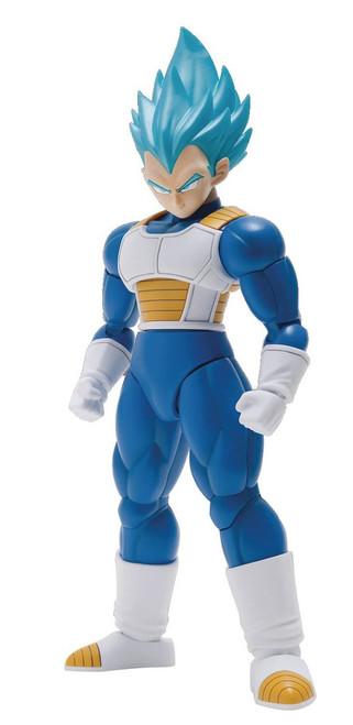 Dragon Ball Figure-Rise Standard Super Saiyan Blue Vegeta 6-Inch Model Kit Figure [Special Color Version]