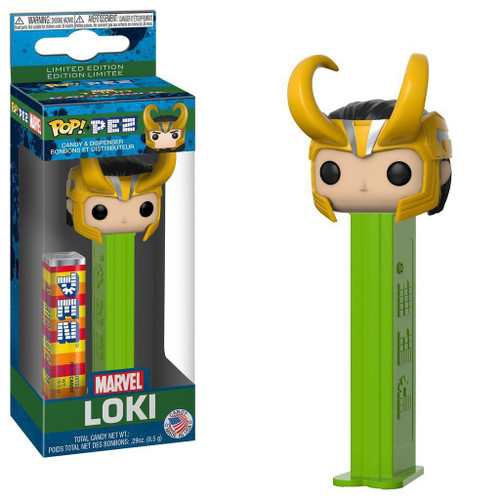 Funko Marvel Thor: Ragnarok POP! PEZ Loki Candy Dispenser