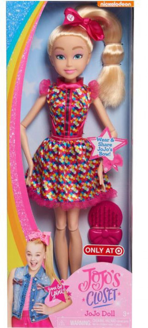 Nickelodeon JoJo's Closet JoJo Siwa Exclusive Doll