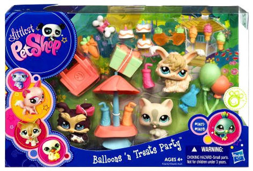 Littlest Pet Shop Balloons 'N Treats Party Playset