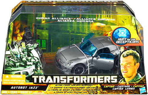 Transformers Hunt for the Decepticons Human Alliance Autobot Jazz Action Figure Set