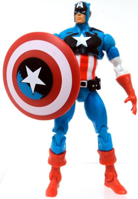 Marvel Universe Captain America (Shaded Colors) Action Figure [Loose, No Package]