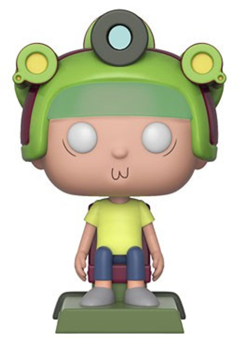 Funko Rick & Morty POP! Animation Morty with Game Helmet Exclusive Vinyl Figure #417