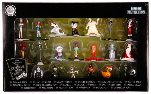 Disney Nano Metalfigs Nightmare Before Christmas 1.5-Inch Diecast Figure 20-Pack