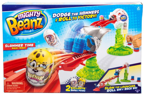 Mighty Beanz Slammer Time Race Track
