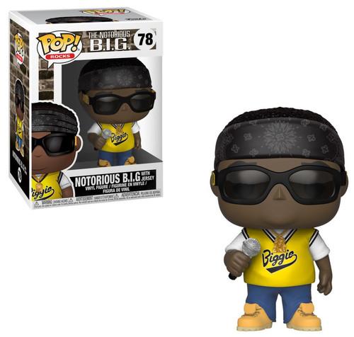 Funko POP! Rocks Notorious BIG (Biggie Smalls) Vinyl Figure #78 [with Jersey]
