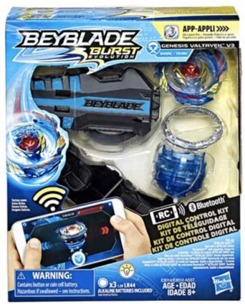 Beyblade Burst Evolution Digital Control Genesis Valtryek V3 Starter Pack