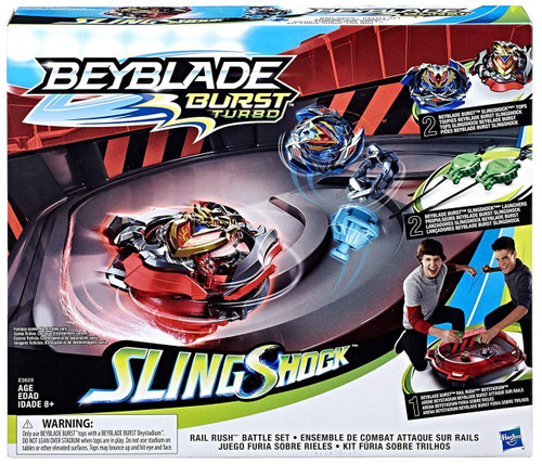 Beyblade Burst Rail Rush Battle Set