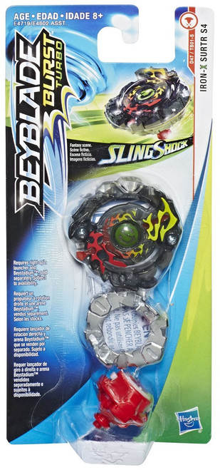 Beyblade Burst Slingshock Iron Surtr S4 Single Top