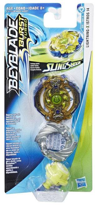 Beyblade Burst Slingshock Lighting X Istros I4 Single Top