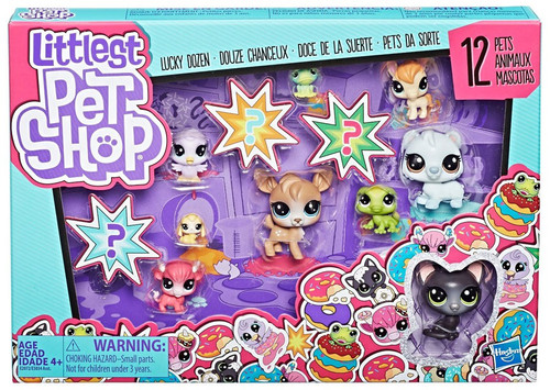 Littlest Pet Shop Lucky Dozen Donuts Figure 12-Pack