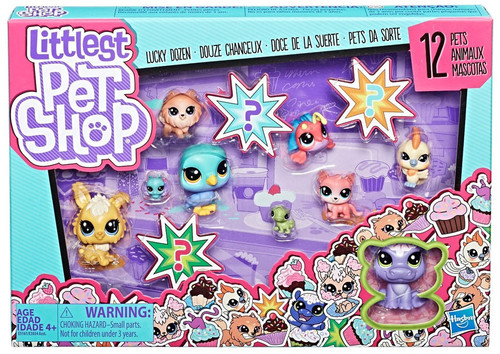 Littlest Pet Shop Lucky Dozen Cupcakes Figure 12-Pack