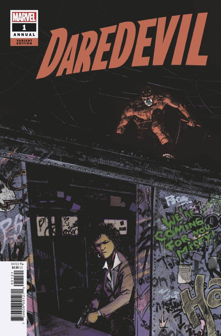 Marvel Comics Daredevil #1 Annual Comic Book [Zaffino Variant Cover]