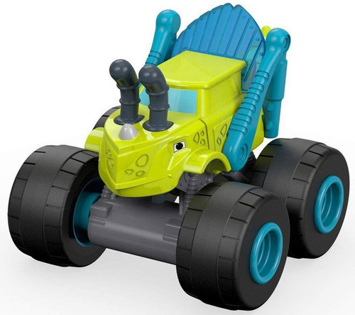 Fisher Price Blaze & the Monster Machines Nickelodeon Grasshopper Zeg Vehicle [Bagged]