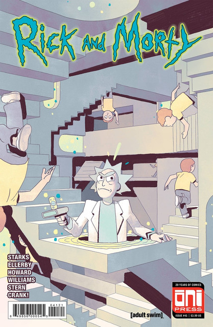 Oni Press Rick & Morty #41 Comic Book [Cover B]