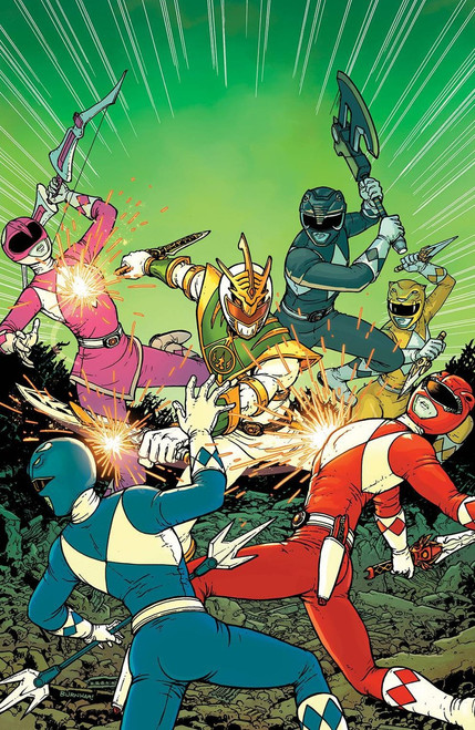 Boom Studios Mighty Morphin Power Rangers #1 Shattered Grid Comic Book [Burnham Variant Cover]