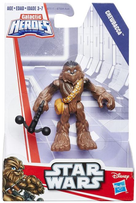 Star Wars Galactic Heroes Basic Chewbacca Mini Figure