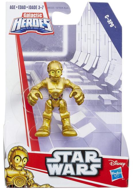 Star Wars Galactic Heroes Basic C-3PO Mini Figure