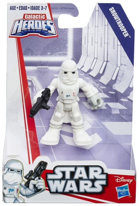 Star Wars Galactic Heroes Basic Snowtrooper Mini Figure