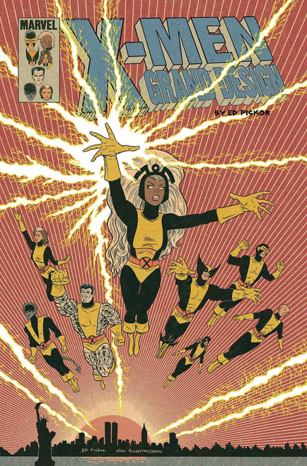 Marvel Comics X-Men Grand Design #2 Second Genesis Comic Book [Piskor Variant Cover]