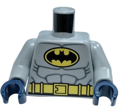 LEGO Light Bluish Gray Batman Loose Torso [Loose]