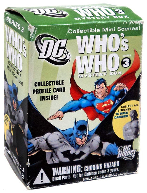 DC Who's Who Series 3 Superman Mini FIgure