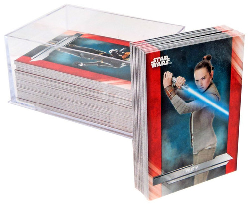 Star Wars Topps The Last Jedi Trading Card Set [100 Cards]