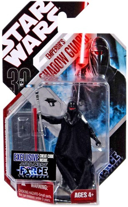Star Wars Force Unleashed 30th Anniversary 2008 Wave 2 Emperor's Shadow Guard Action Figure #14