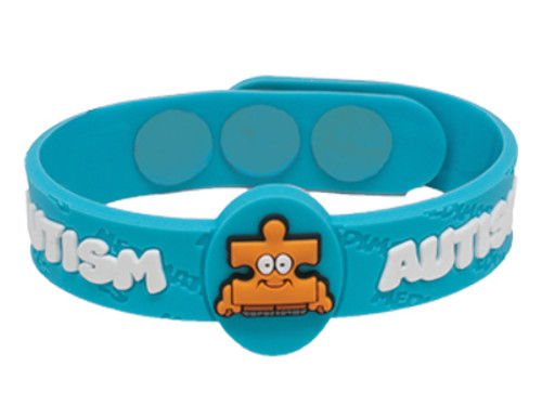 AllerMates Autism Allergy Awareness Wristband [Puzzles]