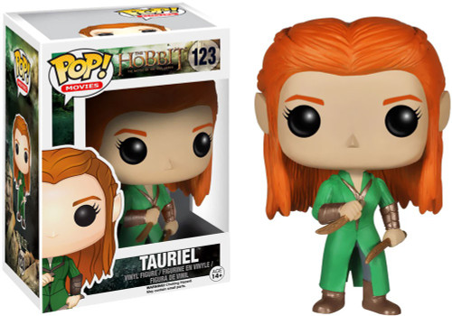 Funko The Hobbit The Desolation of Smaug POP! Movies Tauriel Vinyl Figure #123 [Damaged Package]