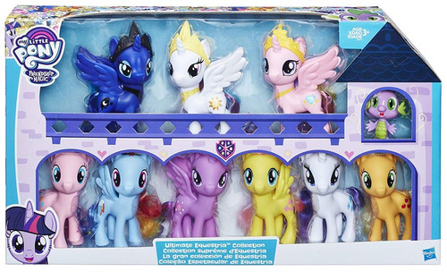 My Little Pony Friendship is Magic Ultimate Equestria Collection 6-Inch 10-Pack Figure Set
