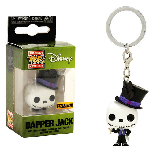 Funko Nightmare Before Christmas Pocket POP! Movies Dapper Jack Exclusive Keychain