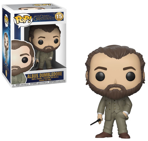 Funko Harry Potter Fantastic Beasts The Crimes of Grindelwald POP! Movies Albus Dumbledore Vinyl Figure #15 [FB2]