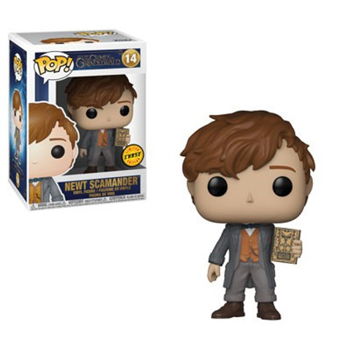Funko Harry Potter Fantastic Beasts The Crimes of Grindelwald POP! Movies Newt Vinyl Figure #14 [Holding Book, Chase Version]