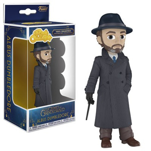 Funko Harry Potter Fantastic Beasts The Crimes of Grindelwald Rock Candy Albus Dumbledore Vinyl Figure
