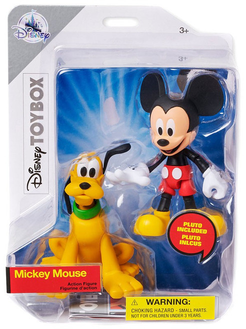 Disney Toybox Mickey Mouse & Pluto Exclusive Action Figure [2018]