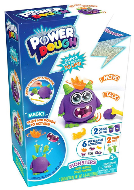 Power Dough Monsters Small Playset [2 Dough Colors]
